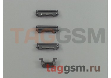 Кнопка (толкатель) для iPhone 6S Plus (mute, on / off, volume) (серый)