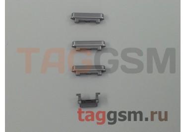 Кнопка (толкатель) для iPhone 6 (mute, on / off, volume) (серый)