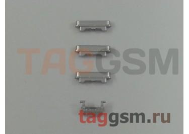 Кнопка (толкатель) для iPhone 6 (mute, on / off, volume) (серебро)