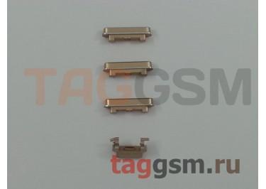 Кнопка (толкатель) для iPhone 6 Plus (mute, on / off, volume) (золото)