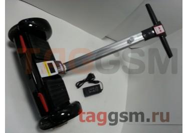 Мини сигвей c рулем Smart Balance A8 8''. пульт, BT-плеер, LED ходовые огни, АКБ samsung, цвет черный
