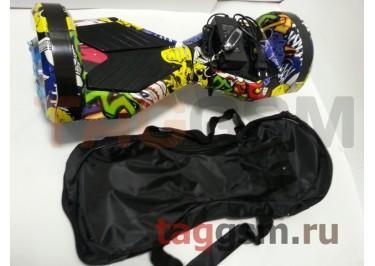 Гироскутер Smart Balance 8''. Tao Tao APP, пульт, BT-плеер, LED ходовые огни, АКБ samsung, сумка, цвет хип-хоп