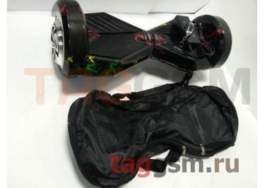 Гироскутер Smart Balance 8''. Tao Tao APP, пульт, BT-плеер, LED ходовые огни, АКБ samsung, сумка, цвет цветная молния