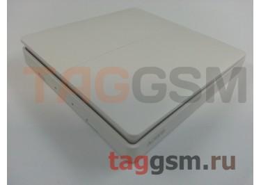 Беспроводной выключатель двухклавишный Xiaomi Aqara Smart Light Control (WXKG02LM) (white)