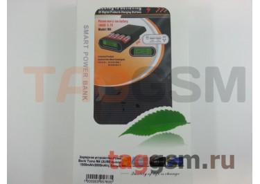 Зарядное устройство для аккумулятора 18650 - Power Bank Tomo M4 (2USB выхода 1000mAh / 2000mAh), белый