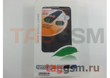 Зарядное устройство для аккумулятора 18650 - Power Bank Tomo M2 (2USB выхода 1000mAh / 2000mAh), черный