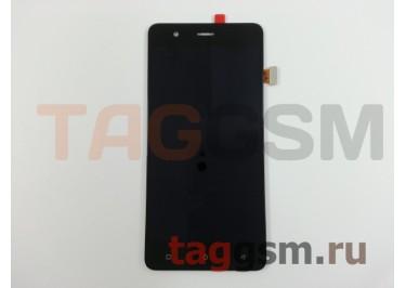 Дисплей для Highscreen Tasty + тачскрин (черный)