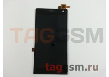Дисплей для Highscreen Verge + тачскрин (черный)