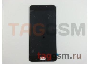 Дисплей для Meizu M5 Note + тачскрин (черный)