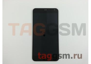 Дисплей для Meizu M1 Note (Metal) + тачскрин (черный)