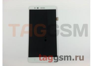 Дисплей для Lenovo K5 Note + тачскрин (белый)