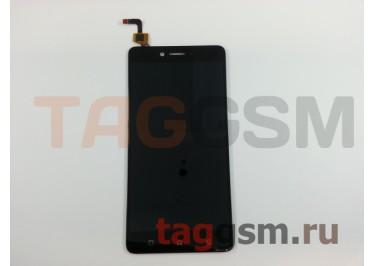 Дисплей для Lenovo K6 Note + тачскрин (черный)