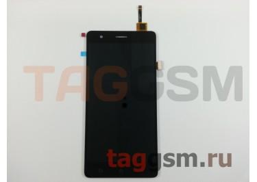 Дисплей для Lenovo K5 Note + тачскрин (черный)