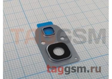 Стекло задней камеры для Samsung A320 / A520 / A720 Galaxy A3 / A5 / A7 (2017) (серебро)