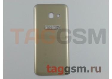 Задняя крышка для Samsung SM-A320 Galaxy A3 (2017) (золото), ориг