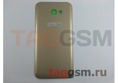 Задняя крышка для Samsung SM-A720 Galaxy A7 (2017) (золото), ориг