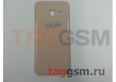 Задняя крышка для Samsung SM-A320 Galaxy A3 (2017) (розовый), ориг