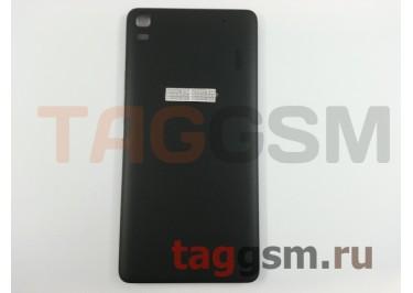 Задняя крышка для Lenovo A7000 / K3 Note (черный), ориг