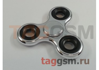Спиннер трехлучевой (хром) (серебро)