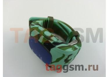 GPS - детские часы SmartBabyWatch Q50 (Милитари)