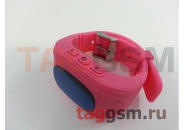 GPS - детские часы SmartBabyWatch Q50 (Розовые)