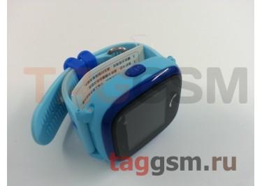GPS - детские часы SmartBabyWatch W9 (Голубые)