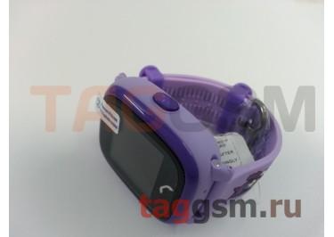 GPS - детские часы SmartBabyWatch W9 (Розовые)