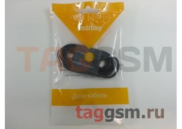 Кабель USB - micro USB (пакет) черный, Smartbuy
