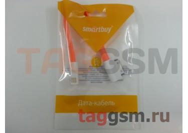 USB для iPhone 4 / iPhone 3 / iPad / iPad 2 / iPod плоский с магнитом (0,2м) оранжевый, Smartbuy