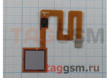 Шлейф для Xiaomi Redmi Note 4 + сканер отпечатка пальца (серый)