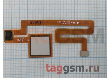 Шлейф для Xiaomi Mi Max + сканер отпечатка пальца (белый)