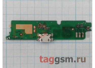 Шлейф для Lenovo A859 + разъем зарядки + микрофон