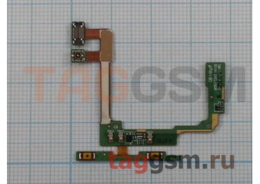 Шлейф для Samsung A300F Galaxy A3 + кнопки громкости + микрофон