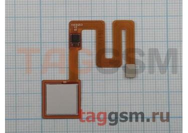 Шлейф для Xiaomi Redmi Note 4 + сканер отпечатка пальца (белый)