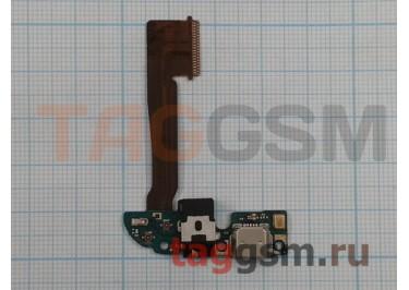 Шлейф для HTC One M8s + разъем зарядки + разъем гарнитуры + микрофон