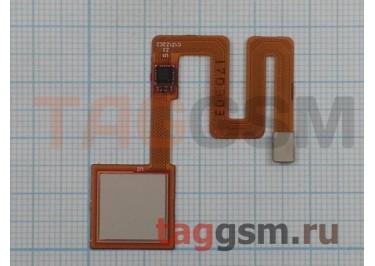 Шлейф для Xiaomi Redmi Note 4 + сканер отпечатка пальца (золото)