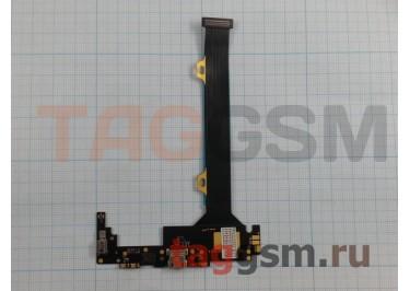 Шлейф для Lenovo K920 Vibe Z2 Pro + разъем зарядки + микрофон + вибро