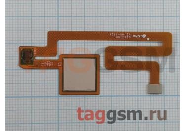 Шлейф для Xiaomi Mi Max + сканер отпечатка пальца (золото)
