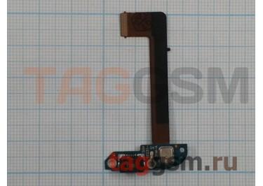 Шлейф для HTC One Max + системный разъем + микрофон