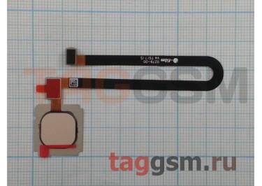 Шлейф для Xiaomi Mi5s Plus + сканер отпечатка пальца (золото)