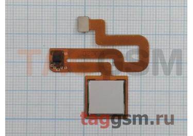Шлейф для Xiaomi Redmi Note 3 / Redmi Note 3 Pro + сканер отпечатка пальца (белый)