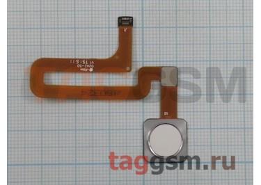 Шлейф для Xiaomi Mi4s + сканер отпечатка пальца (белый)