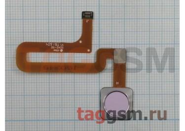 Шлейф для Xiaomi Mi4s + сканер отпечатка пальца (розовый)