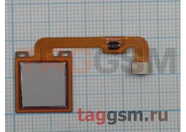 Шлейф для Xiaomi Redmi Note 4X + сканер отпечатка пальца (серый)