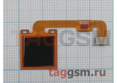 Шлейф для Xiaomi Redmi Note 4X + сканер отпечатка пальца (черный)
