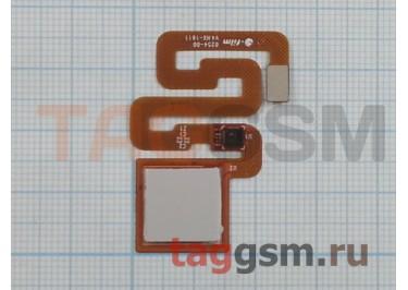 Шлейф для Xiaomi Redmi 3s / Redmi 3 Pro + сканер отпечатка пальца (белый)
