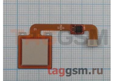 Шлейф для Xiaomi Redmi Note 4X + сканер отпечатка пальца (золото)