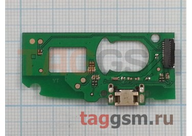 Шлейф для Alcatel OT-7041 Pop C7 + разъем зарядки + микрофон