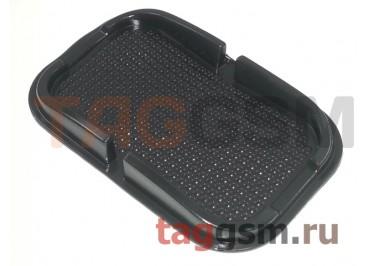 Автомобильный коврик для телефона, универсальный (черный)