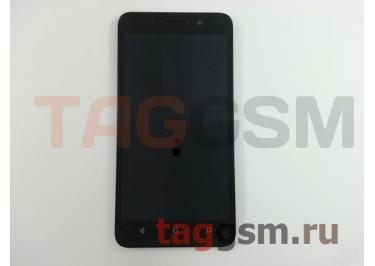 Дисплей для Huawei Honor 4x + тачскрин + рамка (черный), ориг